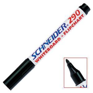 Marķieris tāfelei 290 melns,  Schneider