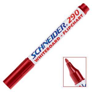 Marķieris tāfelei 290 sarkans,  Schneider