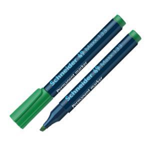 Noturīgais marķieris SCHNEIDER 133,  slīps,  1-4mm,  zaļš