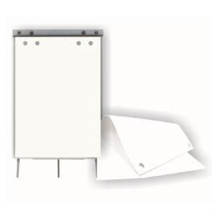 Papīra bloks Flipchart 60x85cm/20lap. balts,  SMLT