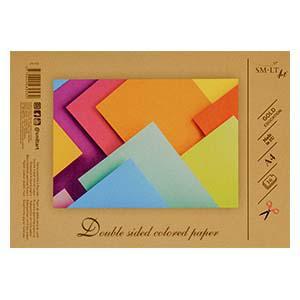 Aplikāciju papīrs A4,  16 loksnes 16 krāsas divpusējs SMLT