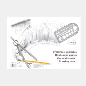 Rasēšanas papīrs,  A3/10 lapas,  SMLT