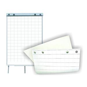 Papīra bloks Flipchart 60x85cm,  50 lapas,  rūtiņu,  SMLT