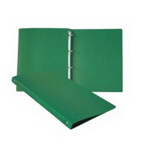 *Mape A4 ar 4 gredz.16mm(platums 25 mm) zaļa,  SMLT