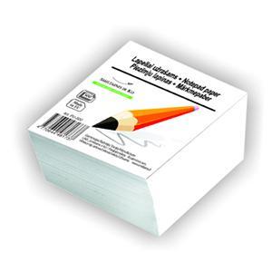 Piezīmju papīrs (maiņa) balts,  80x80mm,  500 lapas,  SMLT