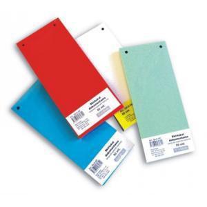 Sadalītājs dokumentiem,  kartona 50 lapas,  sarkans,  SMLT