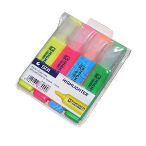 Teksta marķieru komplekts 4 krāsas,  STA
