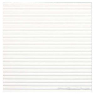 Gofrēts kartons 500x700mm balts,  1 loksne