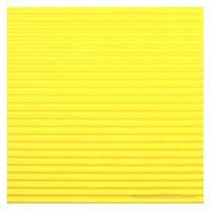 Gofrēts kartons 500x700mm,  dzeltens,  1 loksne