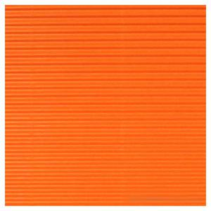 Gofrēts kartons 500x700mm oranžs,  1 loksne