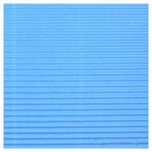 Gofrēts kartons 500x700mm gaiši zils,  1 loksne