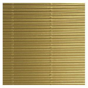 Gofrēts kartons 500x700mm zelts,  1 loksne