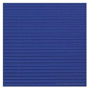 Gofrēts kartons 500x700mm tumši zils,  1 loksne