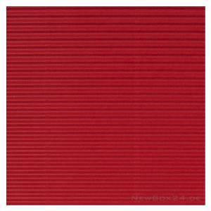 Gofrēts kartons 500x700mm sarkans,  1 loksne