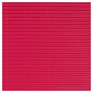 Gofrēts kartons 500x700mm rozā,  1 loksne