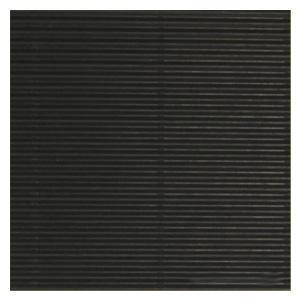 Gofrēts kartons 500x700mm,  melns,  1 loksne