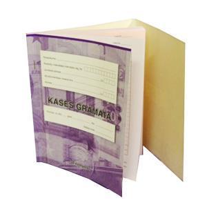 Kases grāmata A5,  2 kārtu,  50kompl.