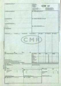 Muitas deklarācijas CMR 6 lapas bez numuriem
