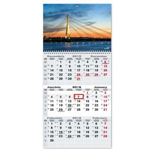 Sienas kalendārs TIMER OFFICE