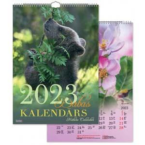 Sienas kalendārs TIMER Dabas,  2018g.