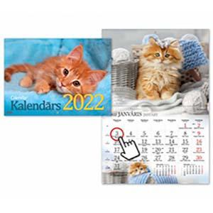 Sienas kalendārs Kaķi 2018g. Timer