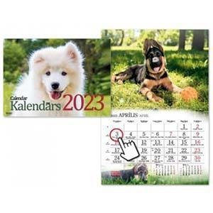 Sienas kalendārs Suņi 2018g. Timer