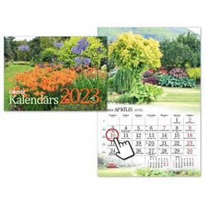 Sienas kalendārs Dārza,  2018g. Timer