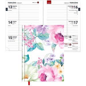 Dienasgrāmata TEMPO Nedēļa Flowers 2020g. Timer