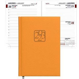 Dienasgrāmata TIMER JUNIOR A6 oranža