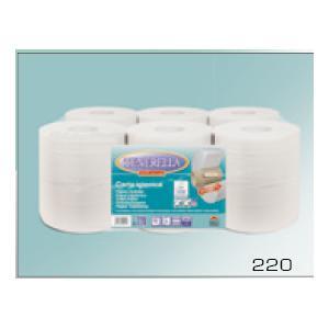 Tualetes papīrs TENERELLA 220,  Mini Jumbo,  2 slāņi