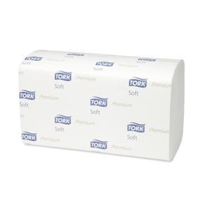 Dvieļi-salvetes TORK Premium ZZ Fold Soft H3,  2 slāņi