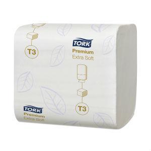 Tualetes papīrs salvetēs TORK Premium Extra Soft T3,  2 slāņi