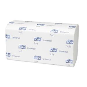 Dvieļi-salvetes TORK Universal ZZ Fold Soft H3,  1 slānis
