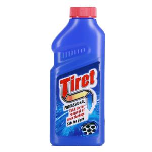 TIRET kanalizācijas cauruļu tīrīšanas līdzeklis 500 ml