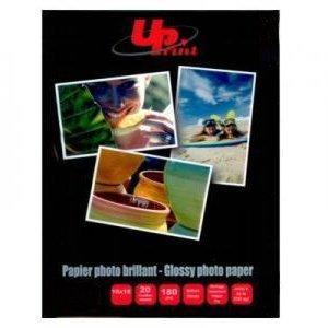 Фотобумага глянцевая 10x15см/20листов 180г/м2  UPrint