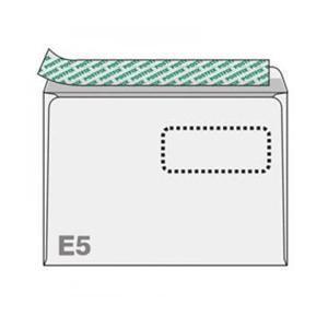 Конверты с окном POSTFIX E5/1000 штук 156x220мм