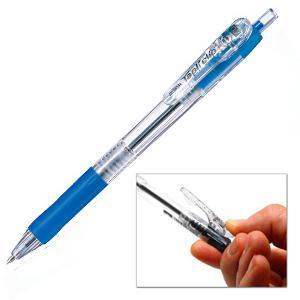 Pildspalva lodīšu ZEBRA Tapli Clip 0.5mm zila
